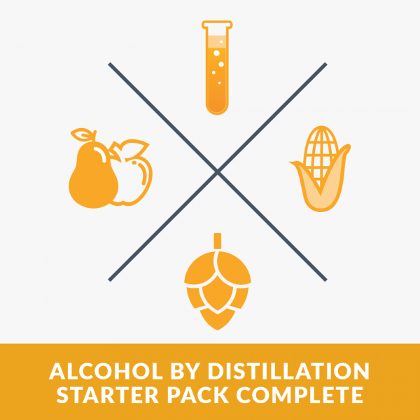 Alchol by distillation Starter Park Complete