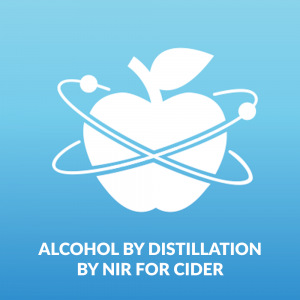 Alcohol by Distillation by NIR - Cider Making and Cider Testing Kit