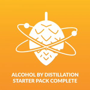 Alcohol by distillation starter pack complete - Beer Brewing and Beer Testing Kit