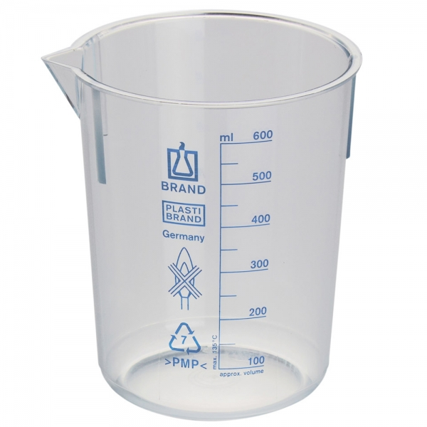 PastiBrand Plastic Beaker - Cider Making Supplies, Spirit Distillation Supplies and Brewing Supplies