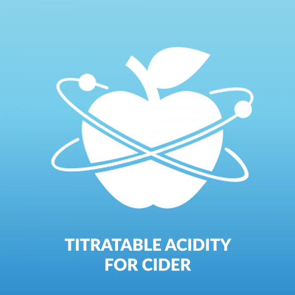 Titratable Acidity - Cider Making and Cider Testing Kit